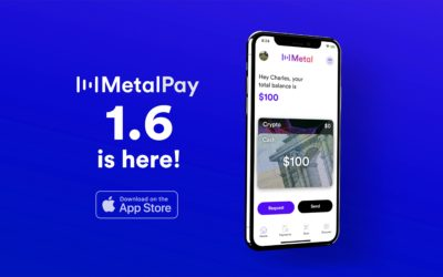 📣 Metal Pay iOS Update 1.6.0 – Referral Codes and QR Codes