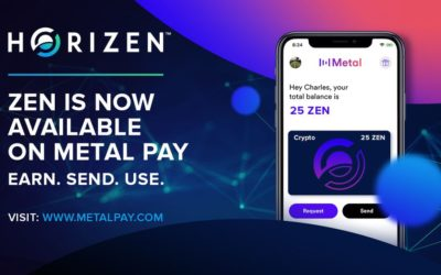 Metal Pay welcomes Horizen (ZEN) to our Marketplace