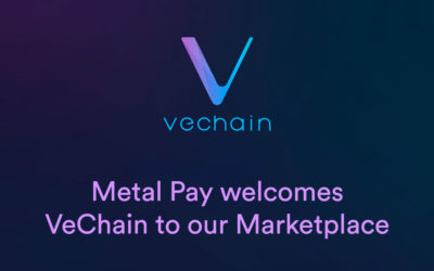 VeChain is now available on Metal Pay