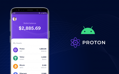 Proton Wallet Alpha is now available for download on Android!